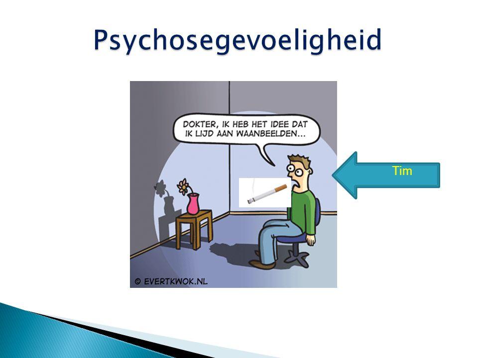 Psychosegevoeligheid