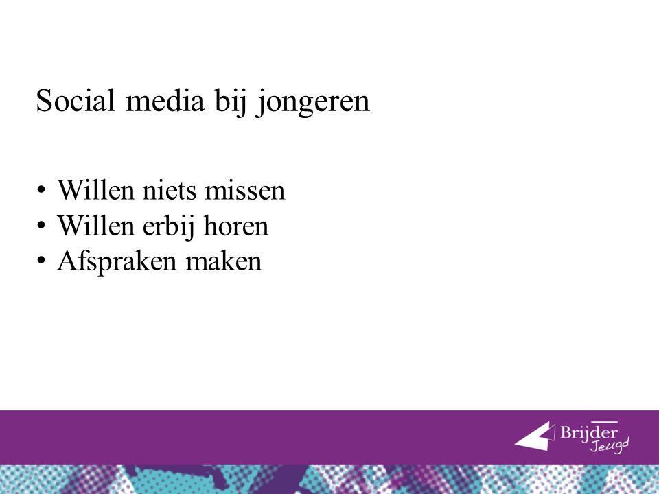 Social media bij jongeren