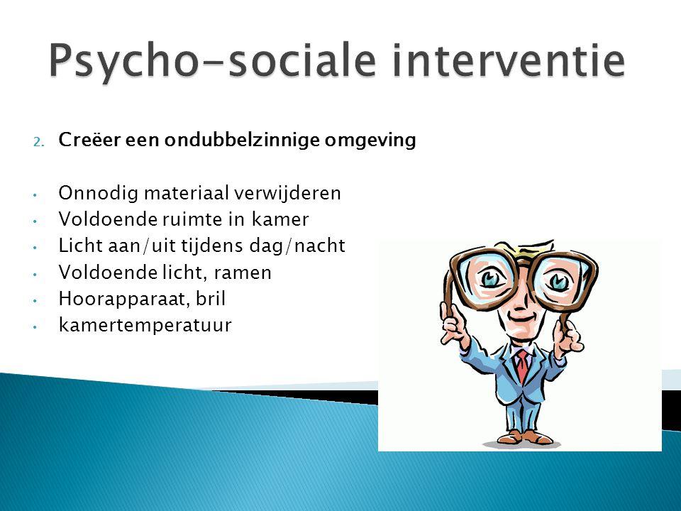 Psycho-sociale interventie