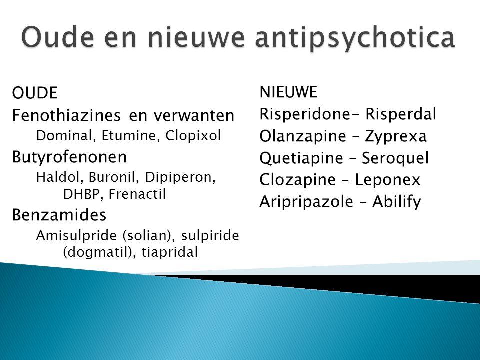 Oude en nieuwe antipsychotica