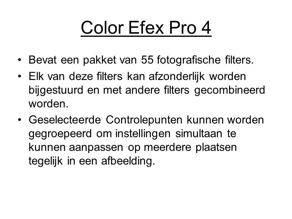Color Efex Pro 4 Bevat een pakket van 55 fotografische filters.