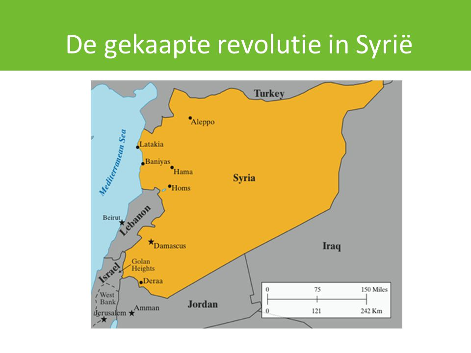 De gekaapte revolutie in Syrië