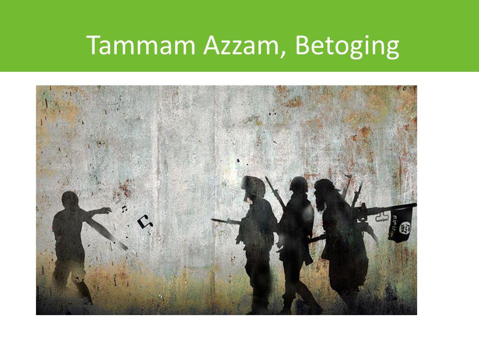 Tammam Azzam, Betoging