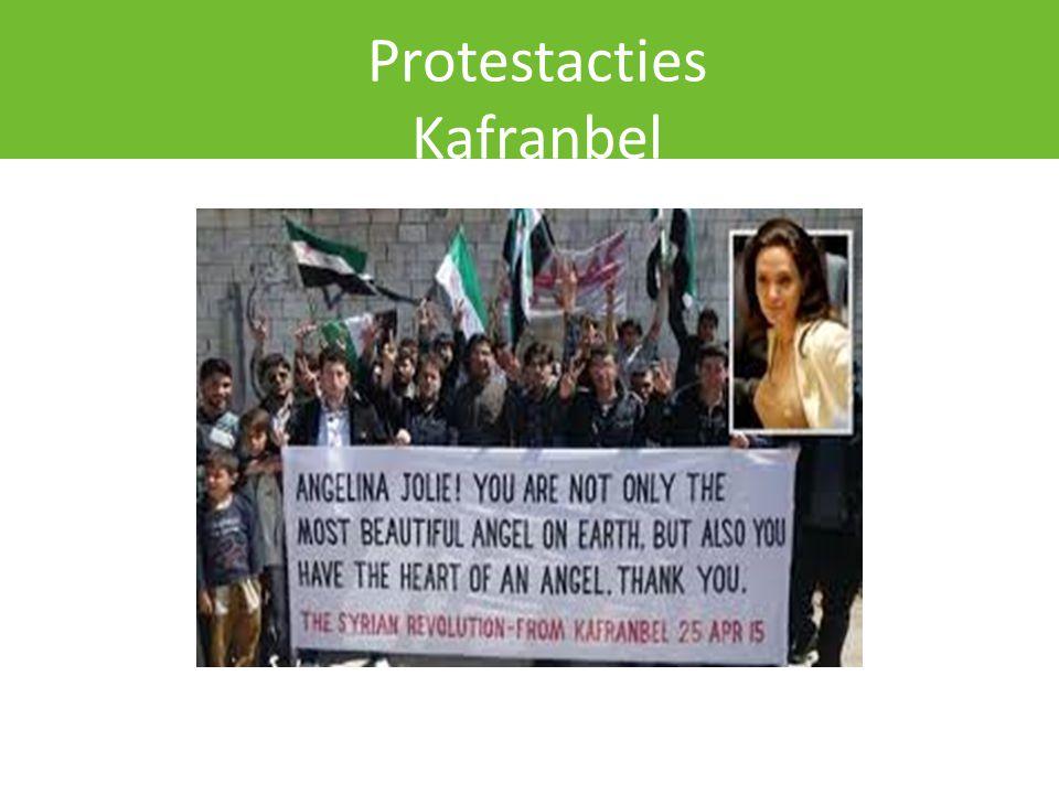 Protestacties Kafranbel