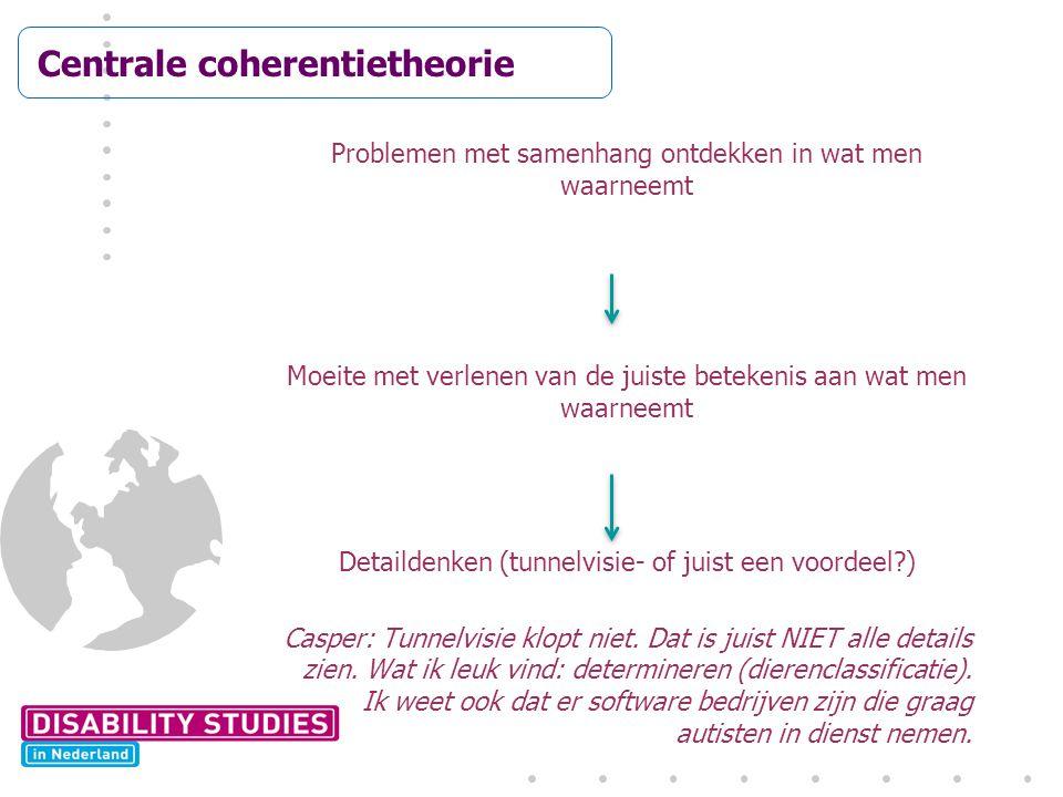 Centrale coherentietheorie