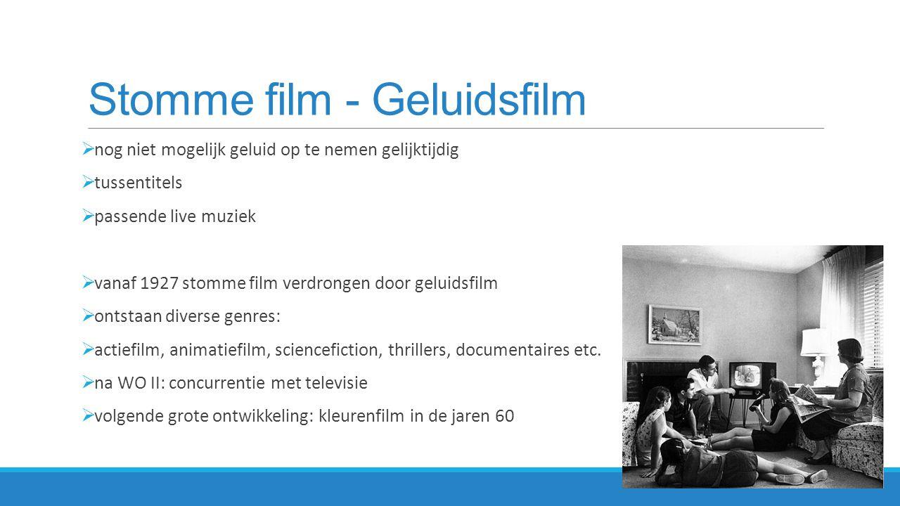 Stomme film - Geluidsfilm