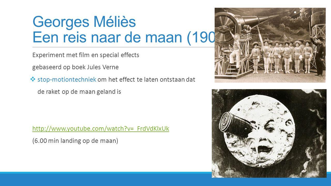 Georges Méliès Een reis naar de maan (1902)