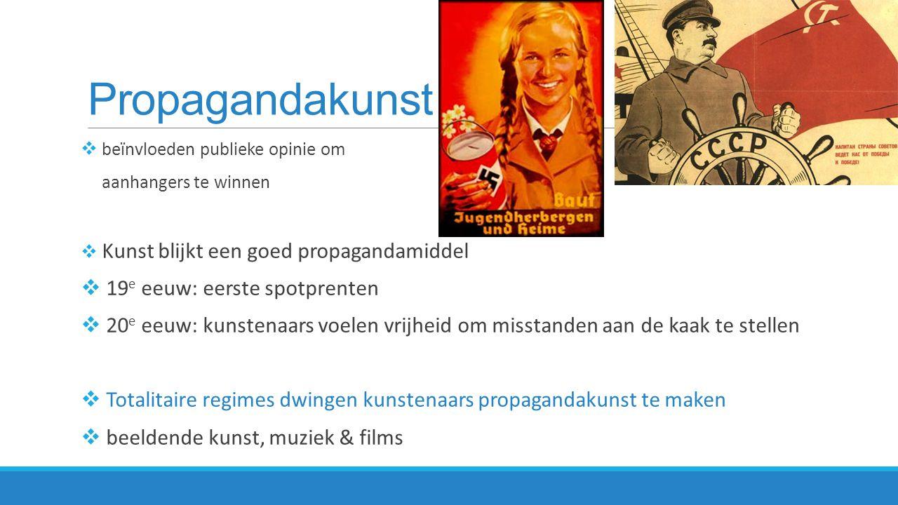 Propagandakunst 19e eeuw: eerste spotprenten