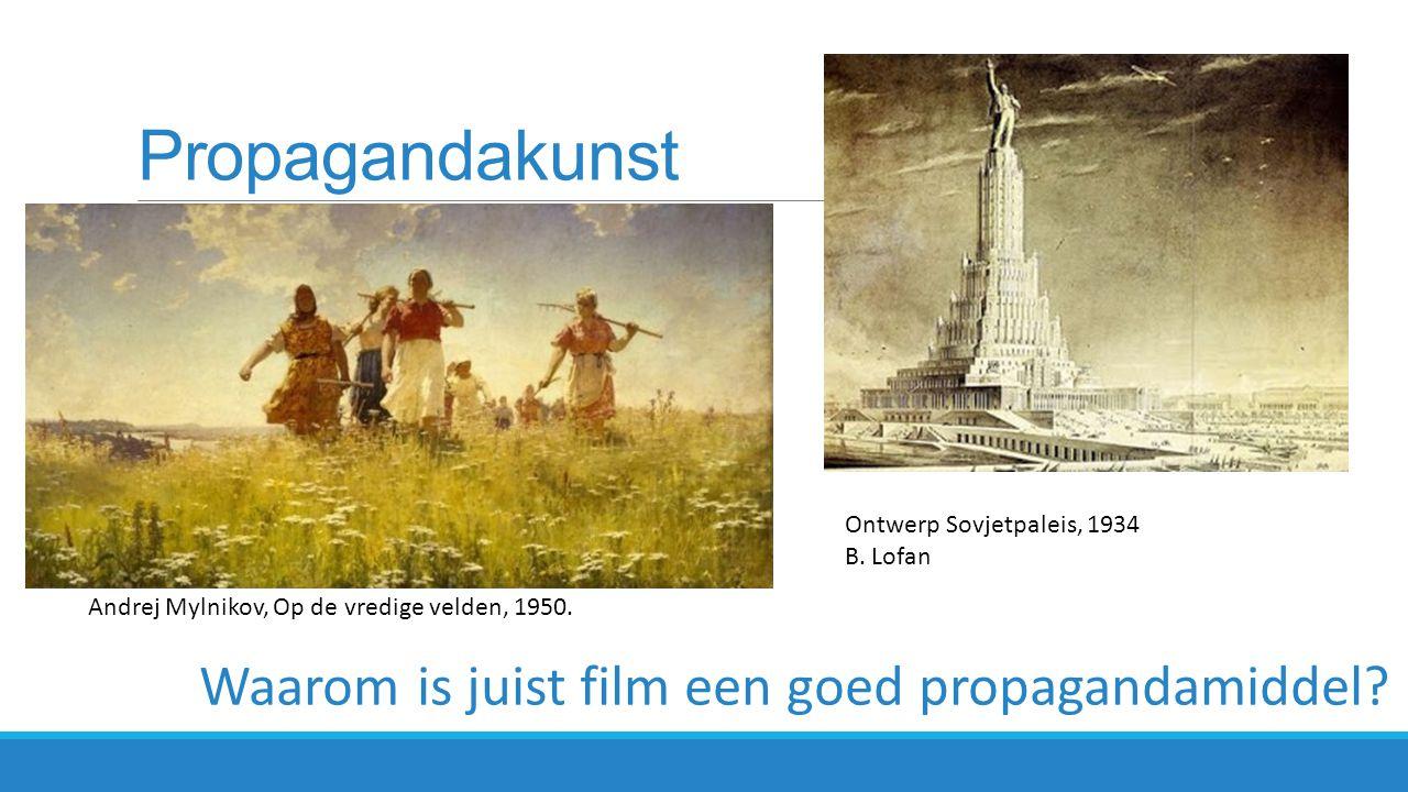 Propagandakunst Ontwerp Sovjetpaleis, 1934 B. Lofan