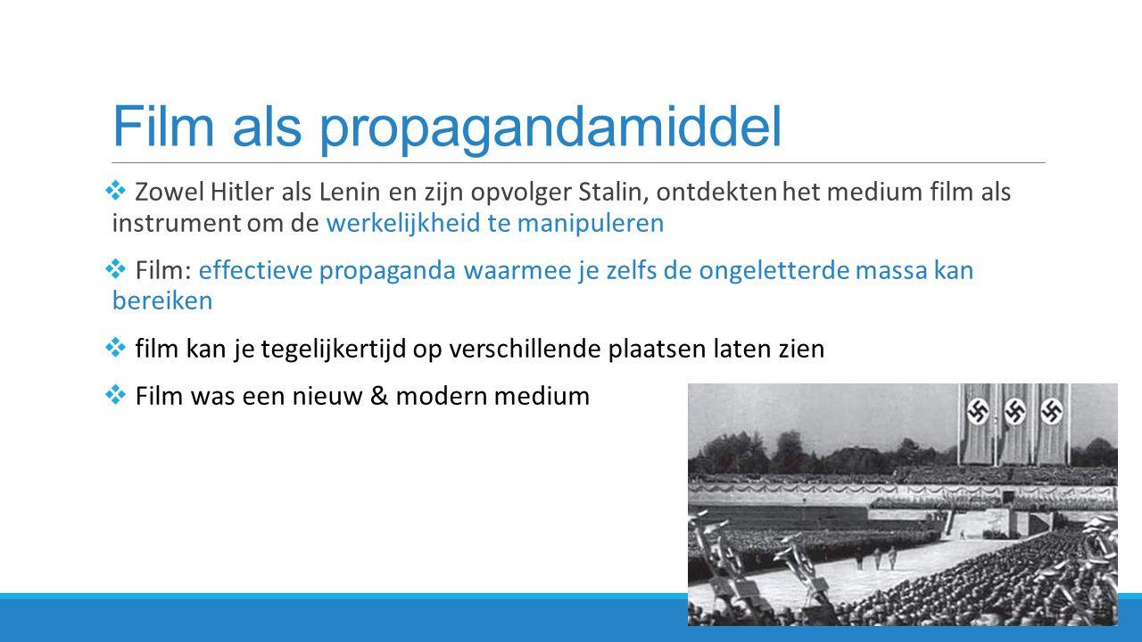 Film als propagandamiddel