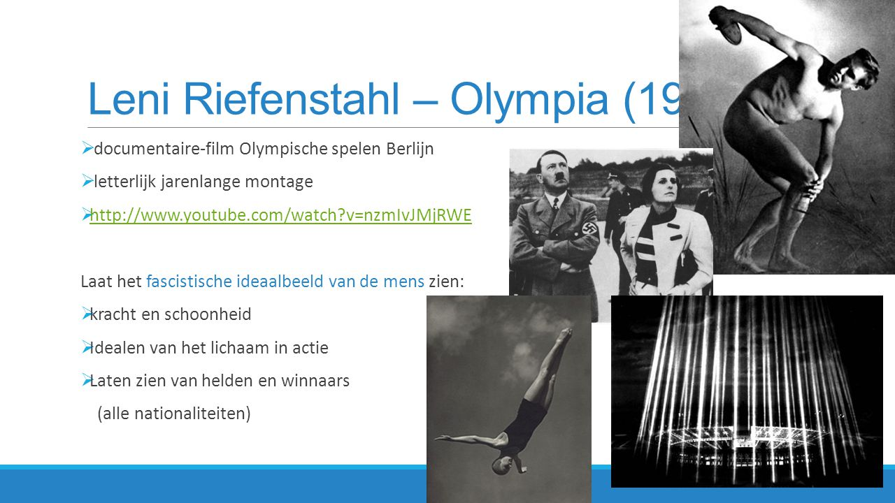 Leni Riefenstahl – Olympia (1936)