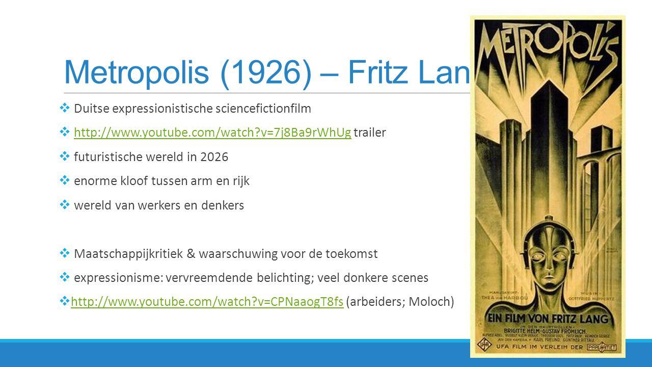 Metropolis (1926) – Fritz Lang