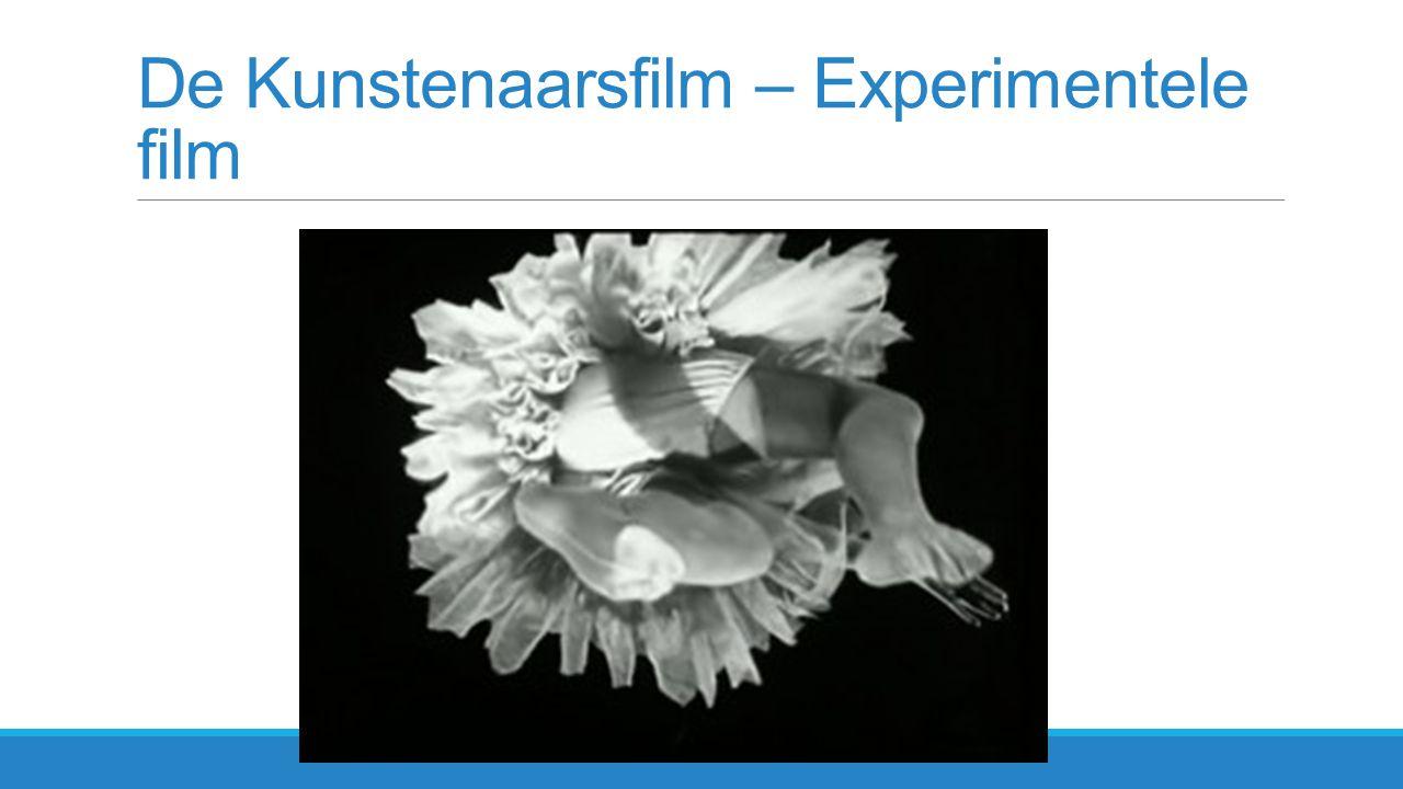 De Kunstenaarsfilm – Experimentele film