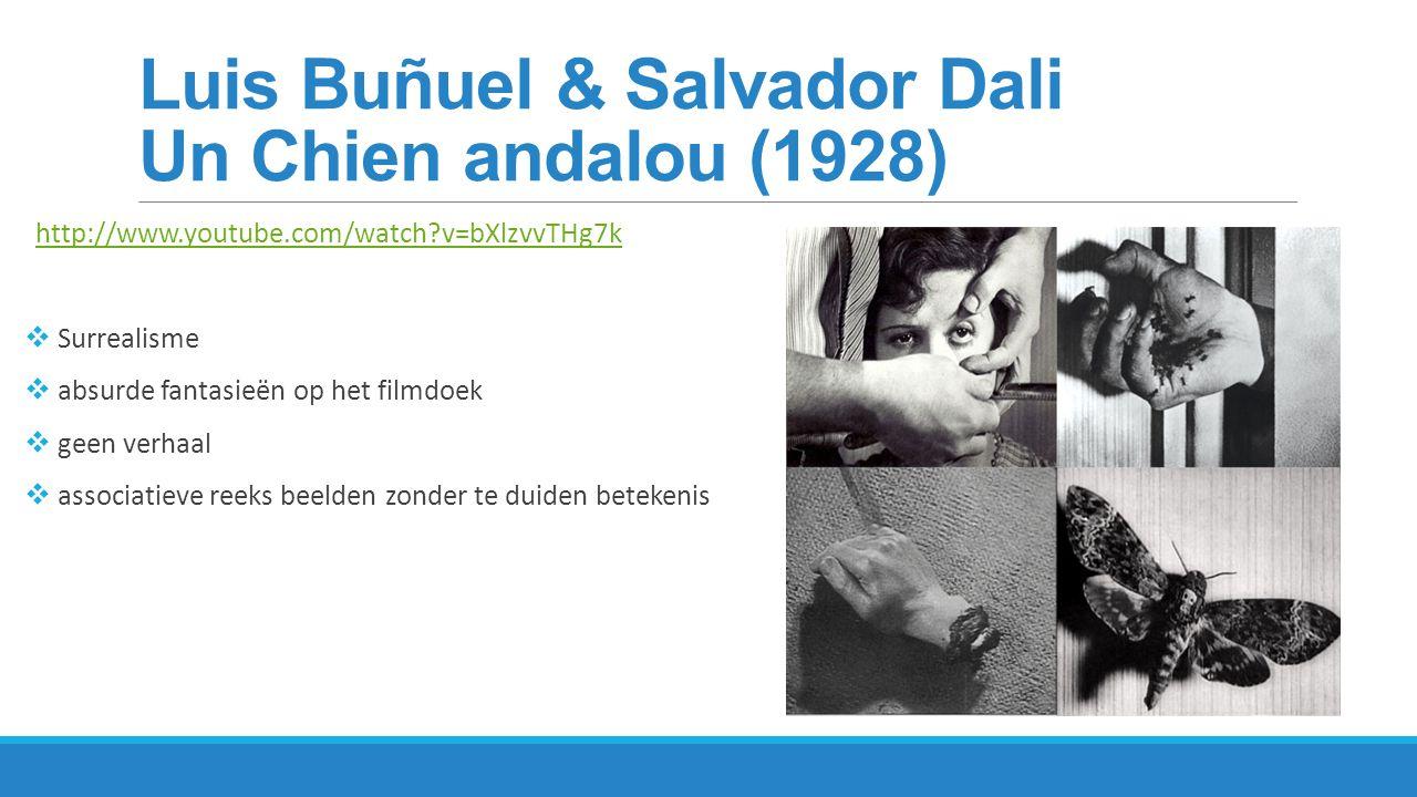 Luis Buñuel & Salvador Dali Un Chien andalou (1928)