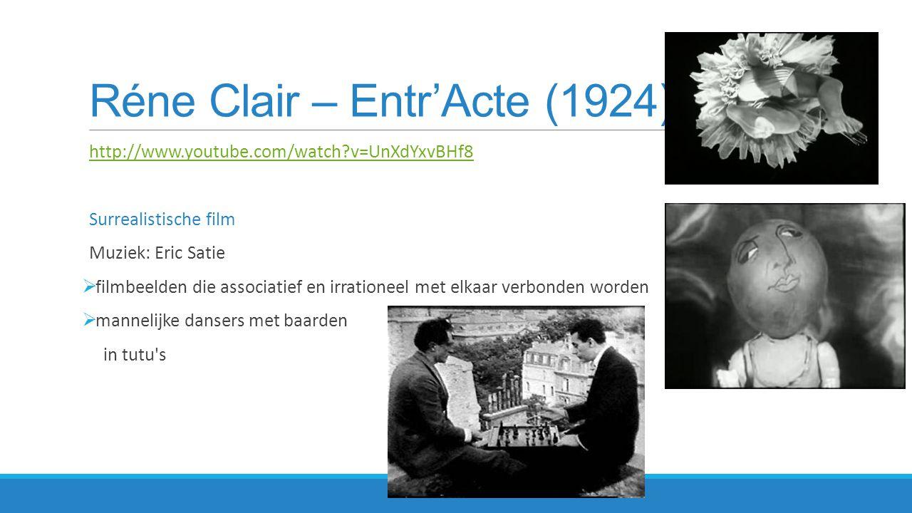Réne Clair – Entr'Acte (1924)