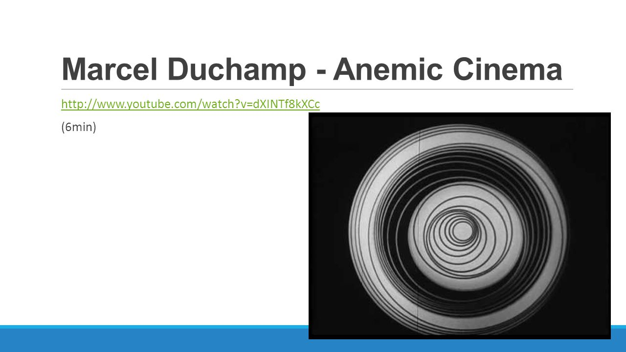 Marcel Duchamp - Anemic Cinema