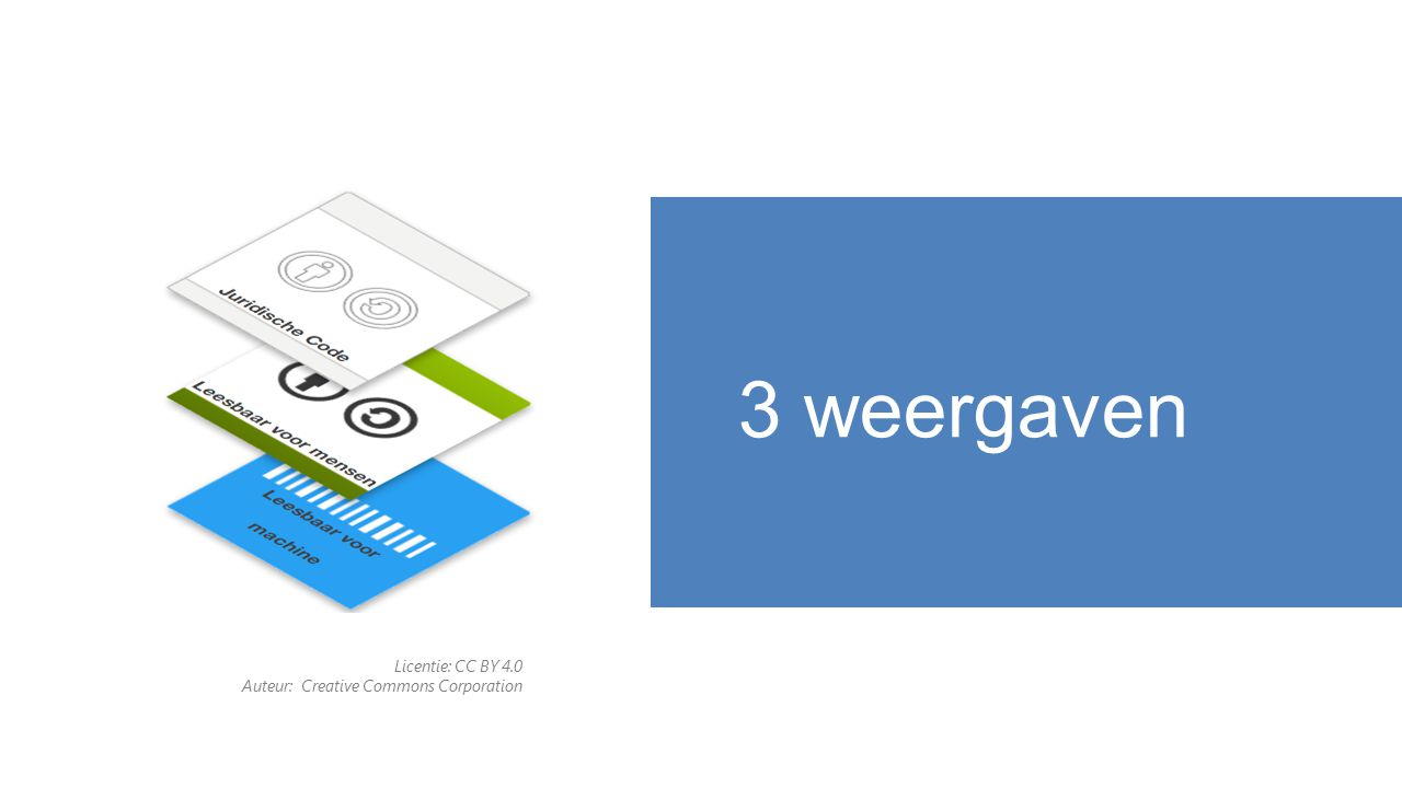 3 weergaven Licentie: CC BY 4.0 Auteur: Creative Commons Corporation