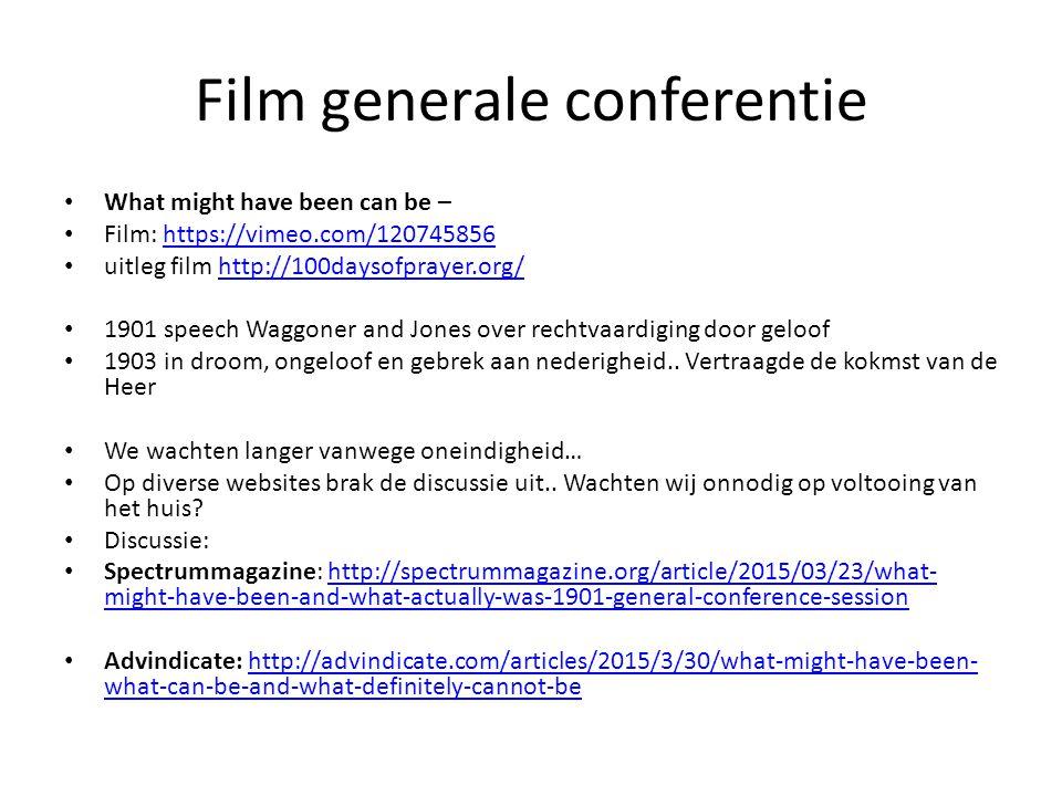 Film generale conferentie