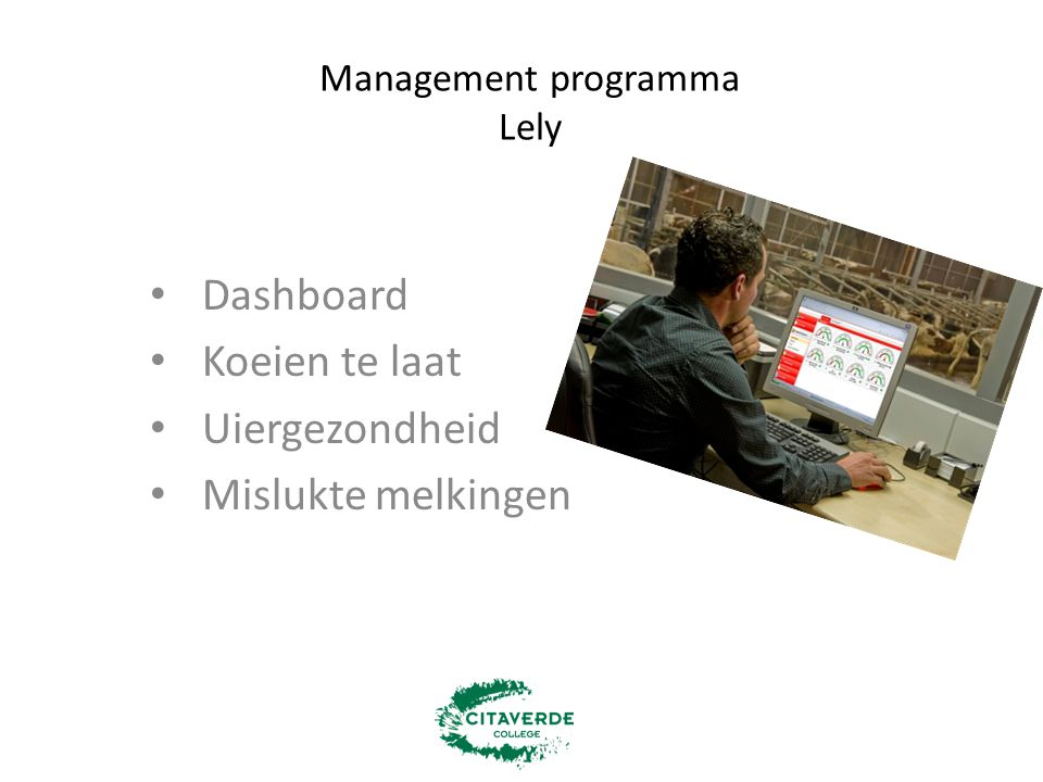 Management programma Lely