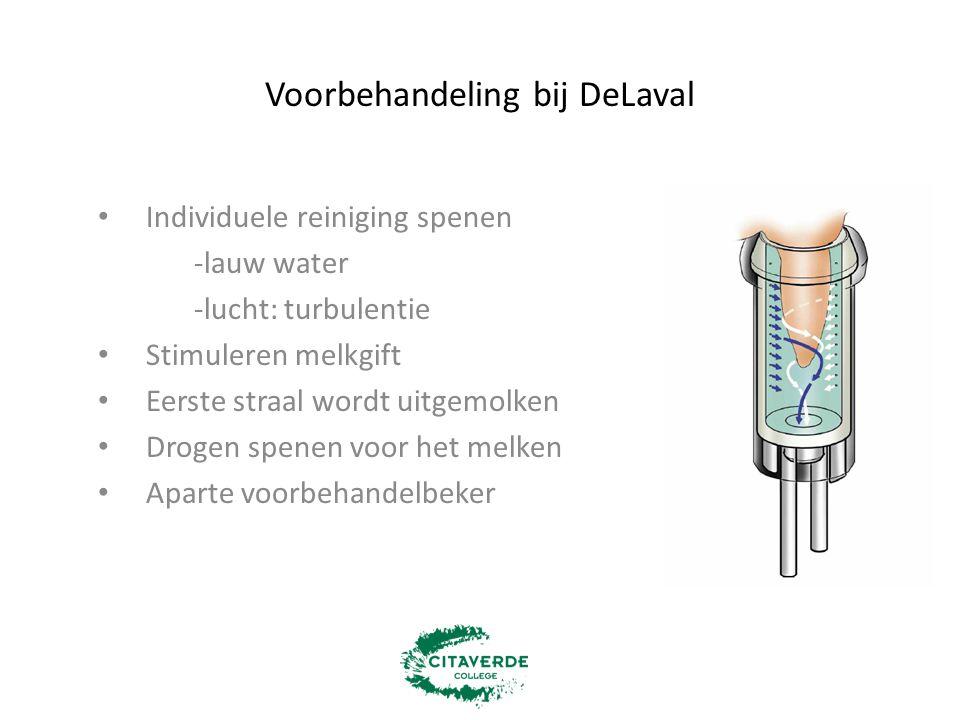 Voorbehandeling bij DeLaval