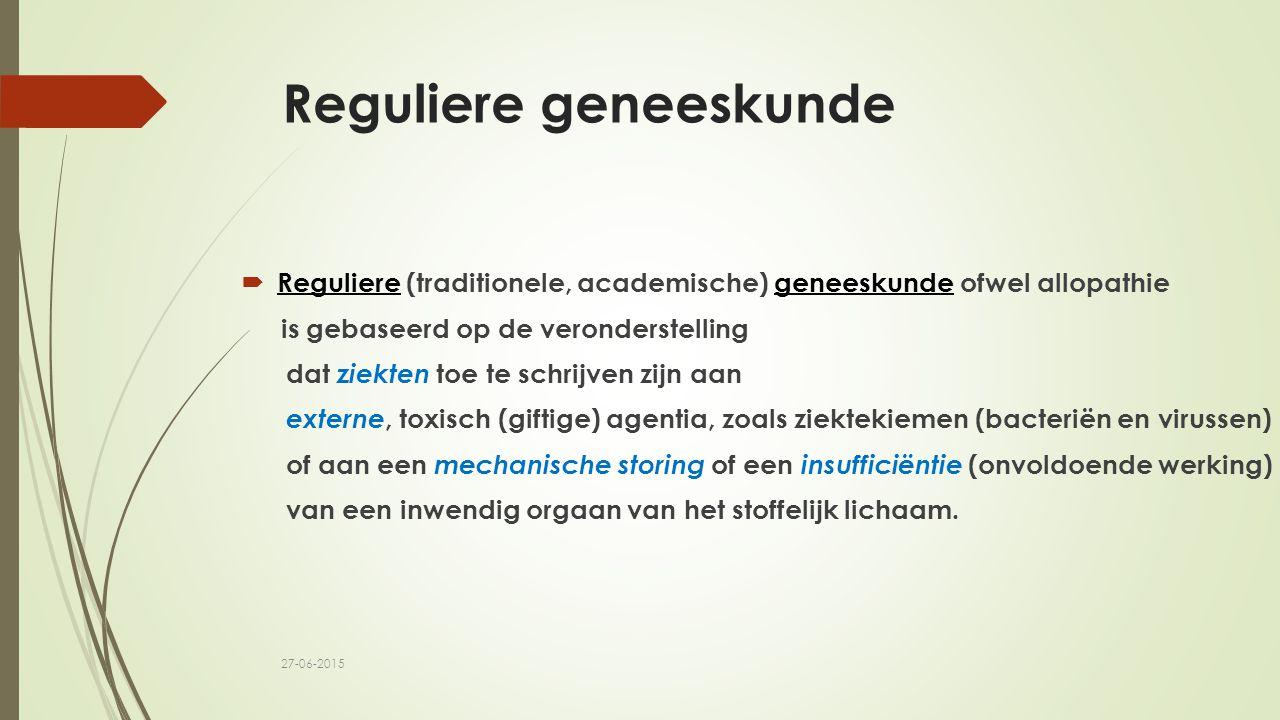 Reguliere geneeskunde