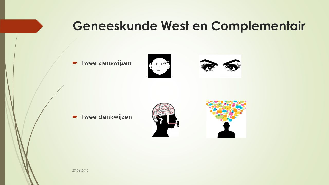 Geneeskunde West en Complementair