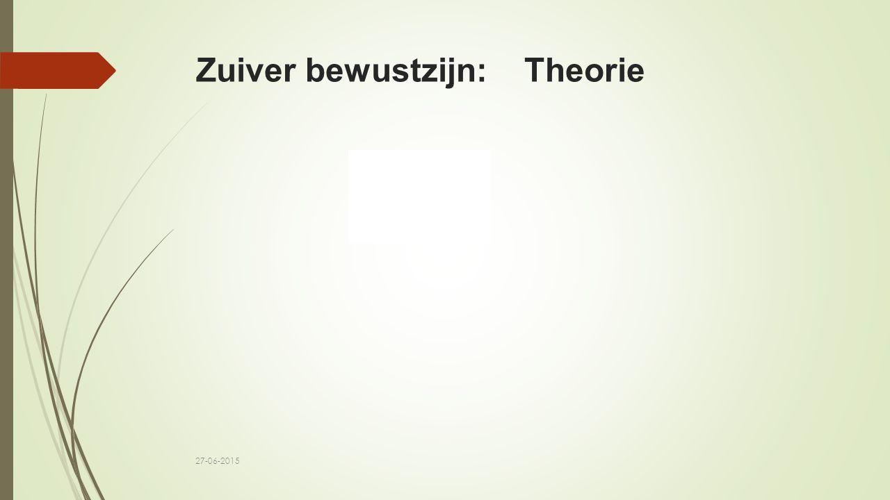 Zuiver bewustzijn: Theorie