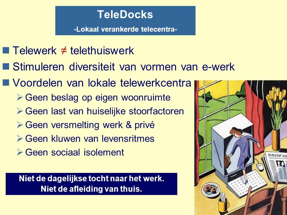 TeleDocks -Lokaal verankerde telecentra-