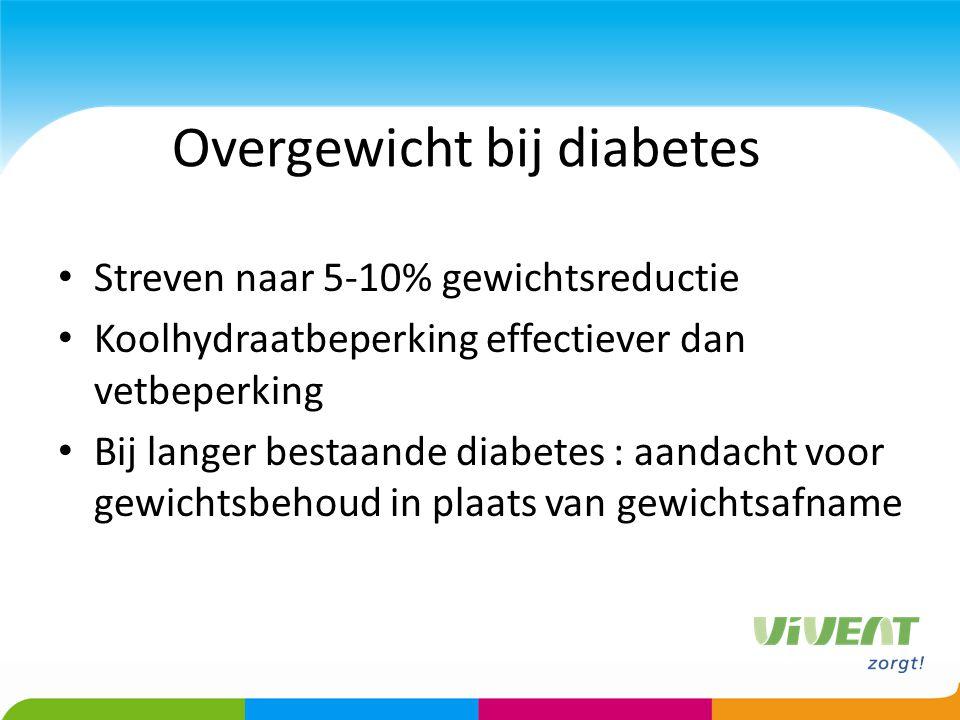 Overgewicht bij diabetes