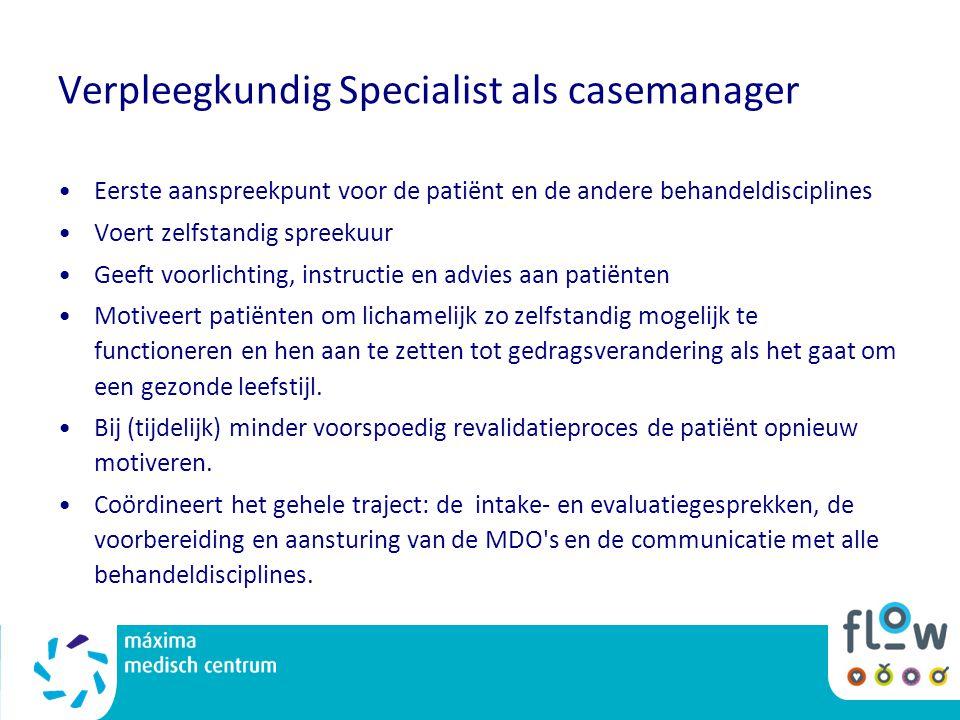 Verpleegkundig Specialist als casemanager