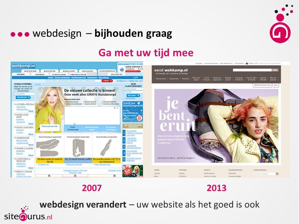 webdesign – bijhouden graag