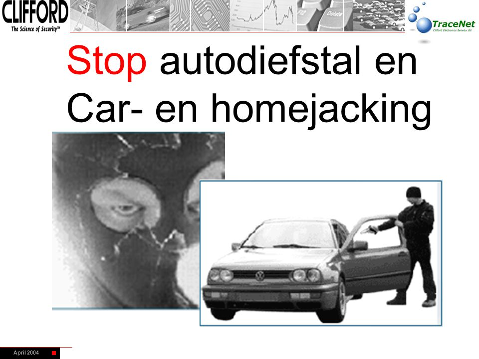 Stop autodiefstal en Car- en homejacking