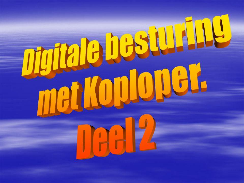 Digitale besturing met Koploper. Deel 2