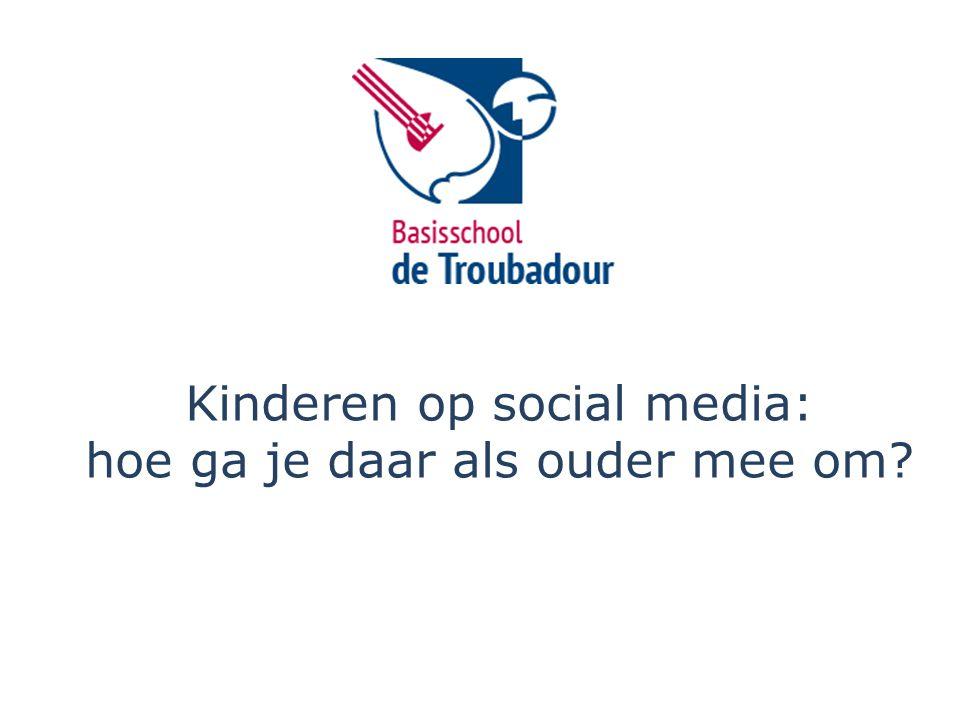 Kinderen op social media: hoe ga je daar als ouder mee om