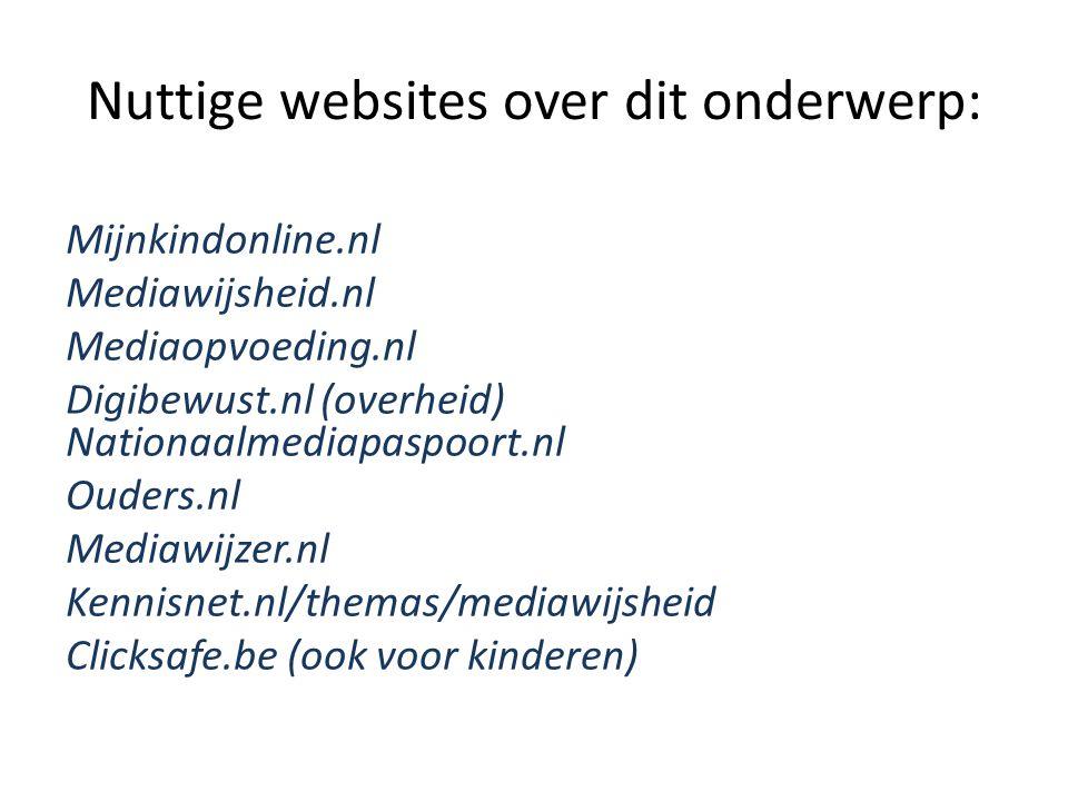 Nuttige websites over dit onderwerp: