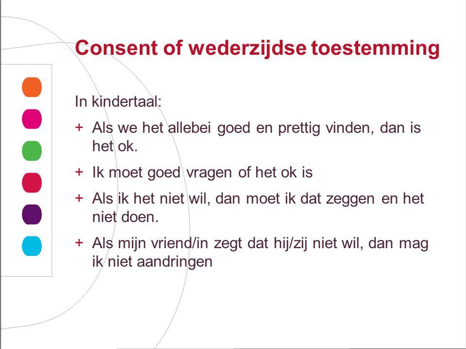 Consent of wederzijdse toestemming