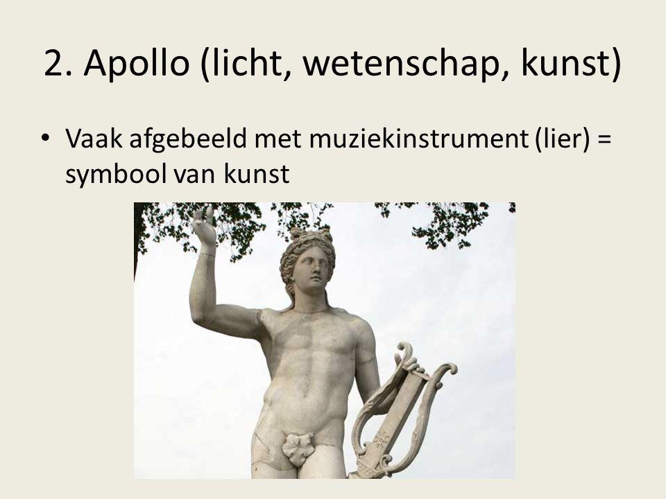 2. Apollo (licht, wetenschap, kunst)