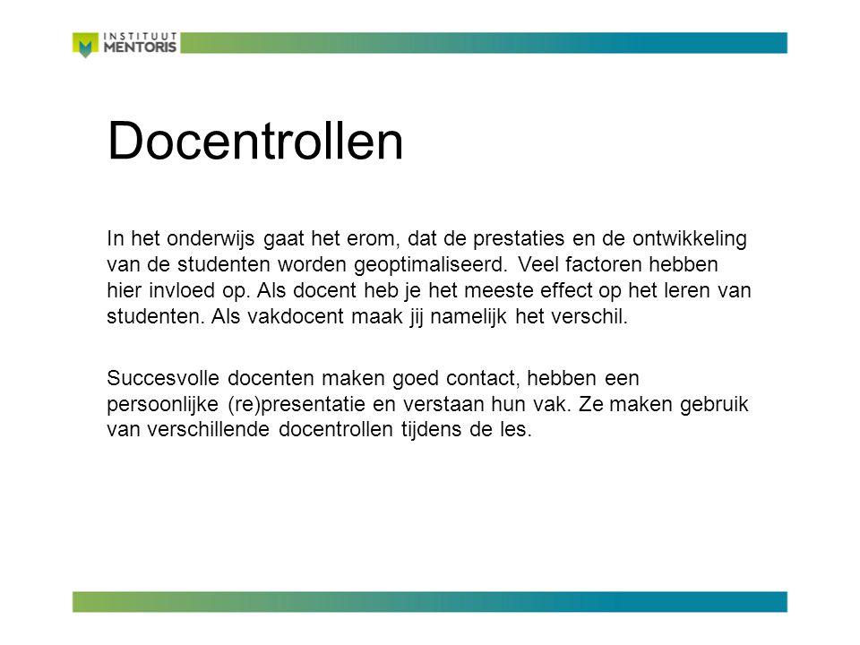 Docentrollen