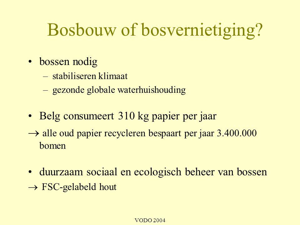 Bosbouw of bosvernietiging