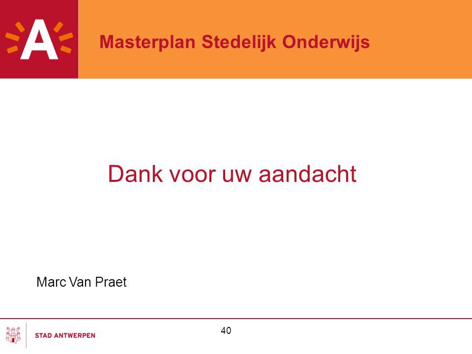 Masterplan Stedelijk Onderwijs