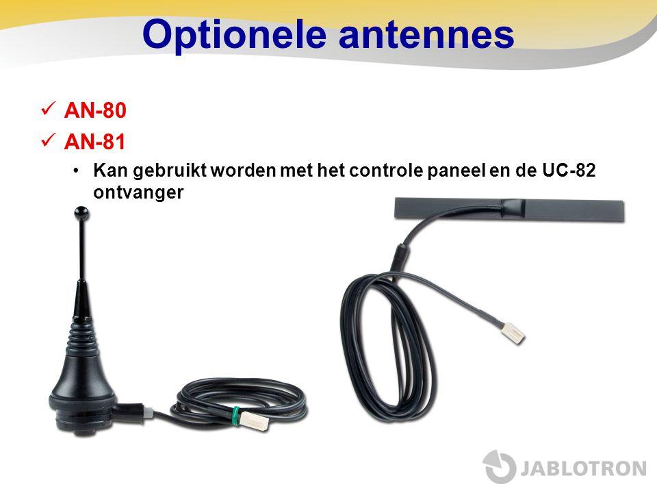 Optionele antennes AN-80 AN-81