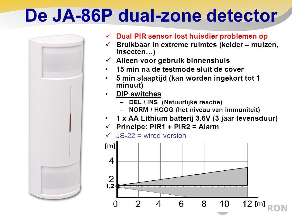 De JA-86P dual-zone detector