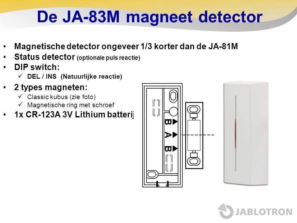De JA-83M magneet detector