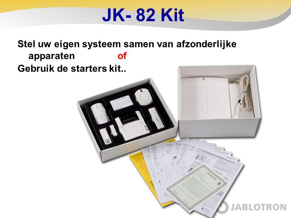 JK- 82 Kit Stel uw eigen systeem samen van afzonderlijke apparaten of