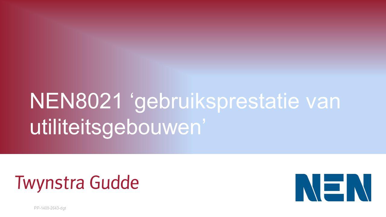 NEN8021 'gebruiksprestatie van utiliteitsgebouwen'