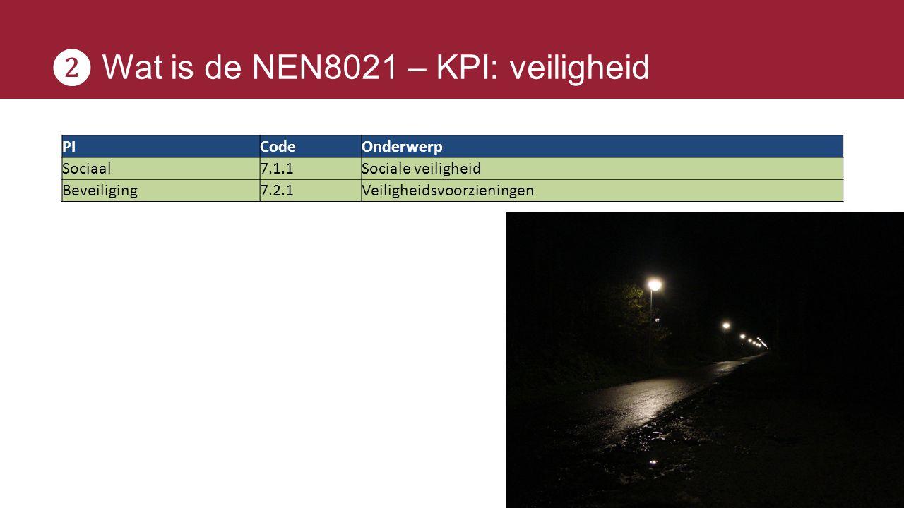 ❷ Wat is de NEN8021 – KPI: veiligheid