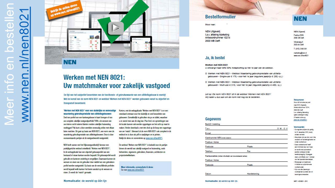 Meer info en bestellen www.nen.nl/nen8021