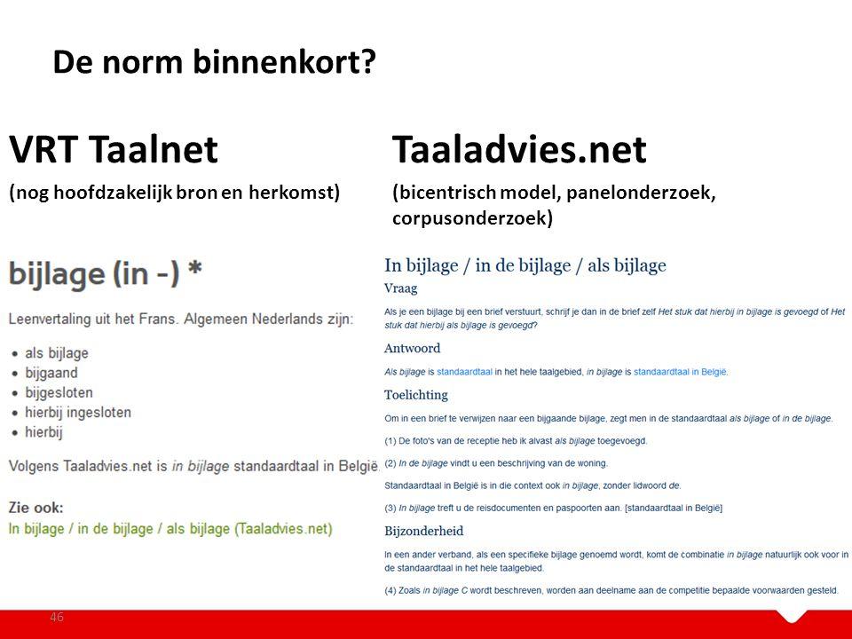 VRT Taalnet Taaladvies.net
