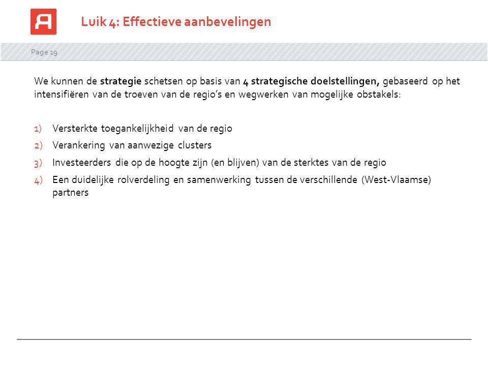 Luik 4: Effectieve aanbevelingen