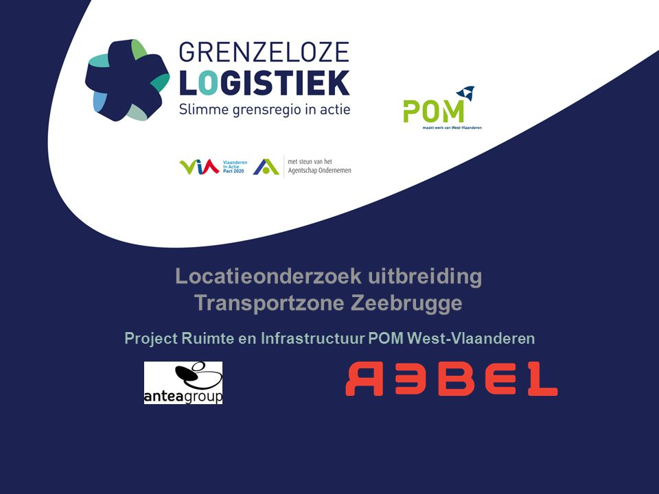 Locatieonderzoek uitbreiding Transportzone Zeebrugge